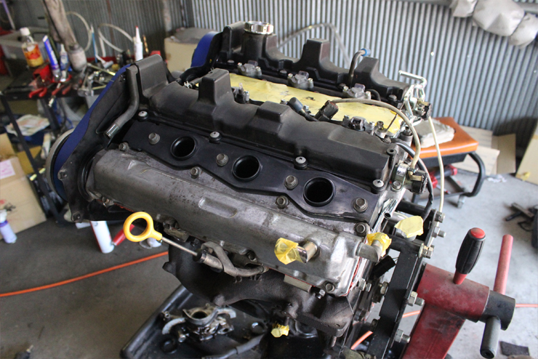 フェアレディz32のセミレストア中VG30DETTエンジン②