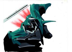 テッカマンブレードのセル画