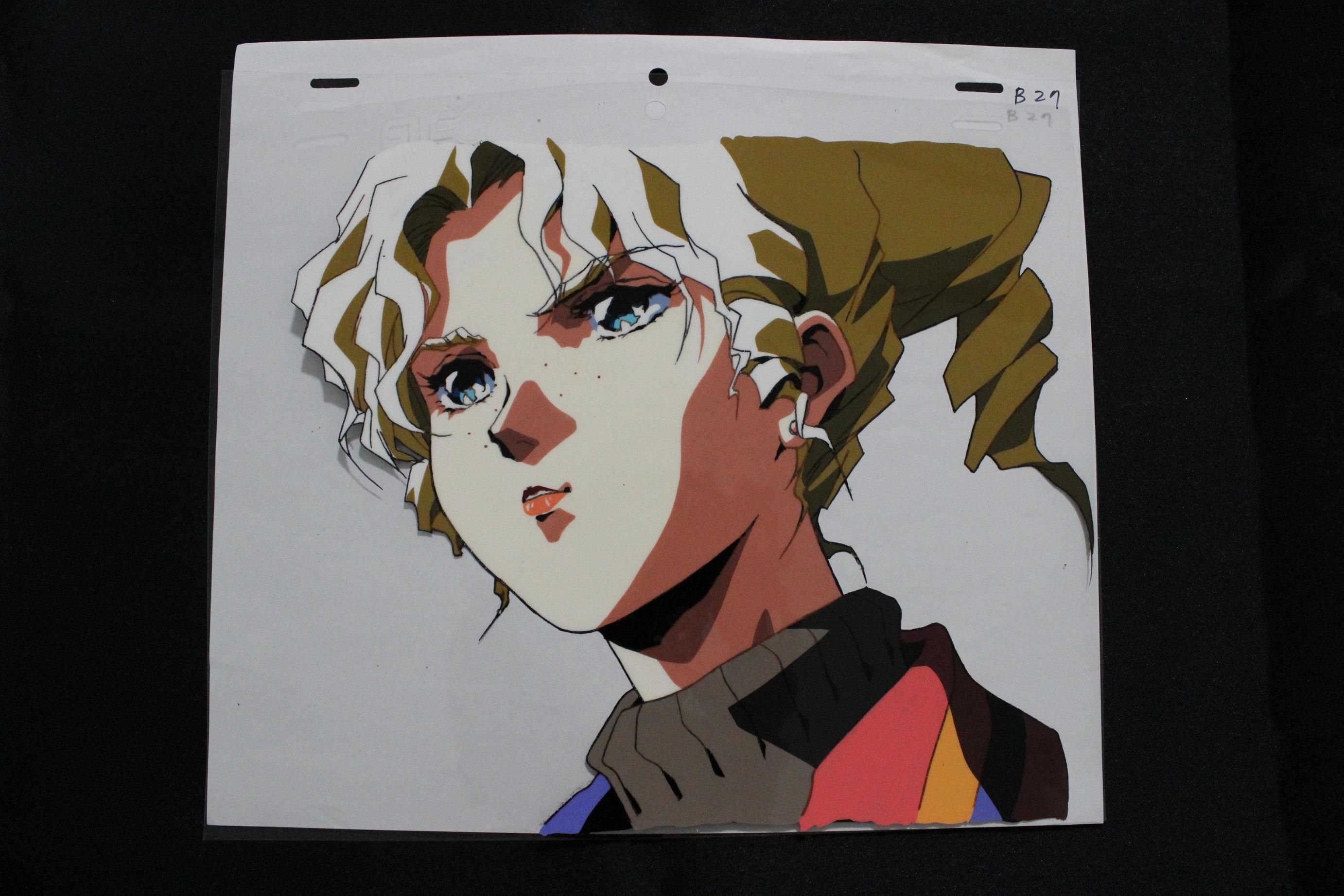 マクロスⅡ オープニングセル画(シルビー・ジーナ)