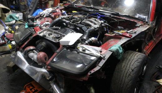 【CLRタクロー】z32の製作状況|コンセプトや魔改造されたボディについて