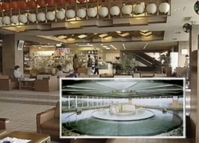 三州園ホテルの大浴場