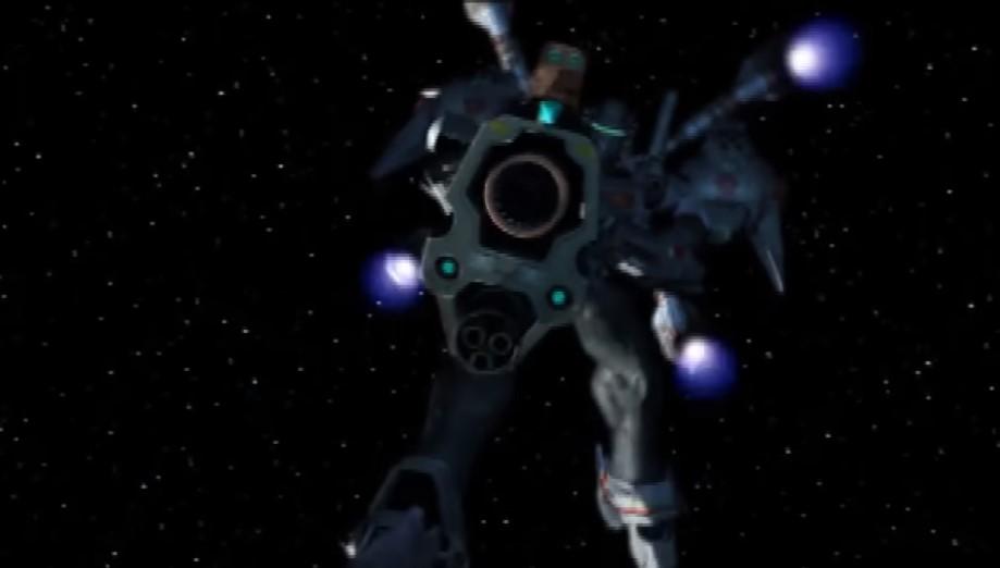 オメガブーストの武器:大型複合ランチャー